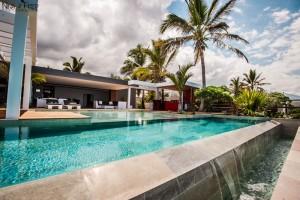 piscine à débordement immobilier Réunion