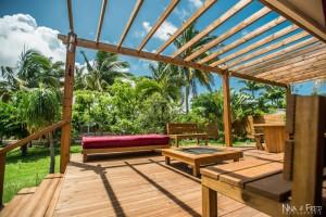 photo d'architecture terrasse