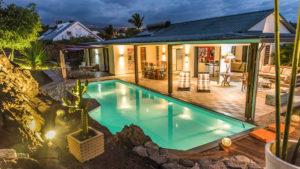 photographie immobilière Villa nuit Réunion