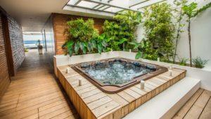 photographie immobilière jardin jacuzzi Réunion